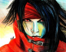 Vincent Valentine by VIIIFireLordAxel