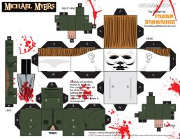Michael Myers Cubee by frankdawg48