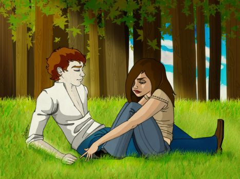 Twilight: In the Meadow by Loleia