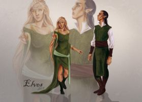 Elves concept by WielkiBoo