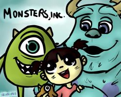 Monsters, inc. by Asterismo