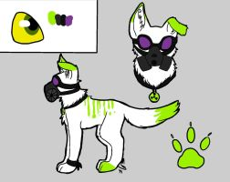 Toxic Adoptable-CLOSED- by Shark-Brains