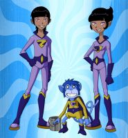 TT - The Wonder Twins by Glee-chan