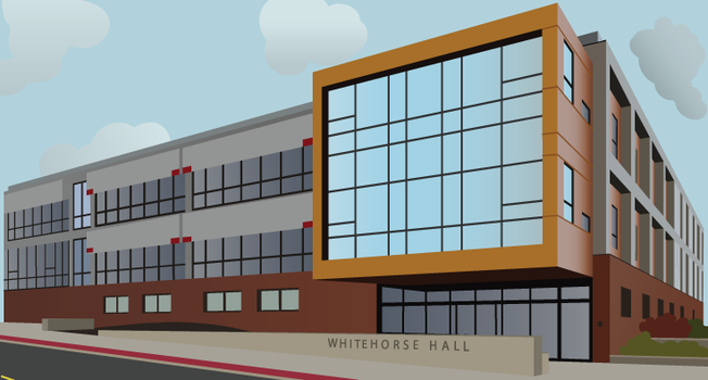Whitehorse Hall in 2PP by Maeflower