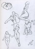 Body sketches... by Mizutei