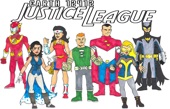 Earth 12412 Justice League by 12for12 by Bastard-Bird