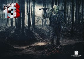 Friday The 13th - Jason Voorhees by tomzj1