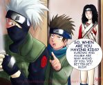 Kakashi....where are the kids? by BotanofSpiritWorld