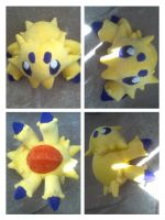 Shiny Joltik plush by LRK-Creations