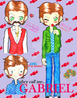 They call me Gabriel MEME by ChibiVillage