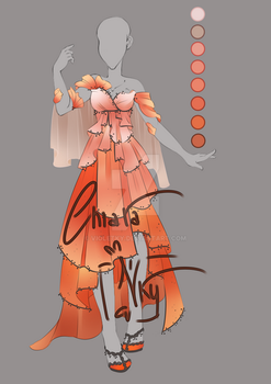 :: Adoptable Poppy Outfit: AUCTION CLOSED :: by VioletKy