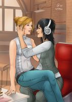 Rebecca x Lucy by Autumn-Sacura