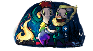 Don't Starve Together - Millbee and Guude by taraforest