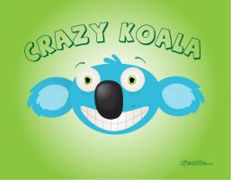 Crazy Koala by djeckie
