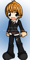 Ron - Harry Potter by amy-art