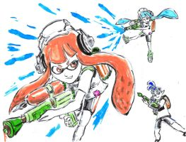 Splatoon by Horoko
