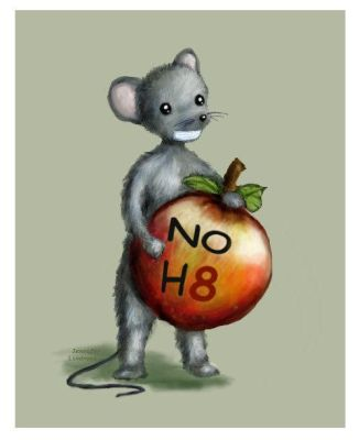 Day of Silence NOH8 Mouse by Yayjennies