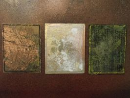 3 Abstract Triptych ACEO by hawthorne-cat