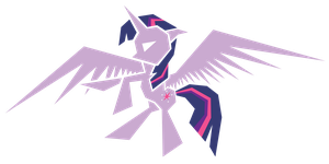Polygonal - Twilight Sparkle by flamevulture17