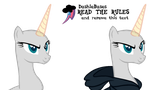 MLP Base: Lookie I have Dean Ambrose's sweater by DashieBases