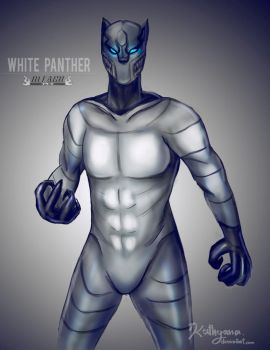 White Panther by Kathyana