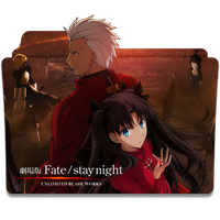 Fate/Stay Night Unlimited Blade Works 2014 Icon by mikorin-chan
