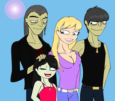 The Niccals Plus Amanda by winxJenny