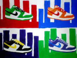 Nike shoes by madds23