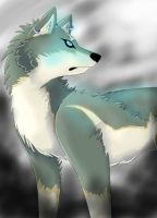 Wolf link by SquidPup