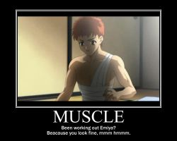Muscles? by Seraphoid