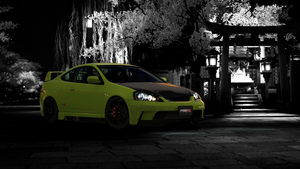 Acura Integra DC5 Wallpaper by FriedRyce