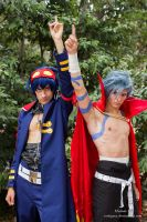 Simon and Kamina Cosplay EpicBro by RedAceCosplay