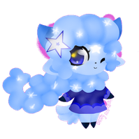 Stardust the Sheep by BittyKitKat