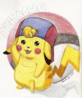 Pikachu by Mini-Artiste