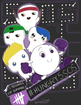 5 Seconds of Summer #Hungry5SOS by OneDirectionFanJohn