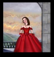 Belle rose rouge by Aqvila