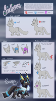 Soulkeepers - Species Ref by LupusSilvae