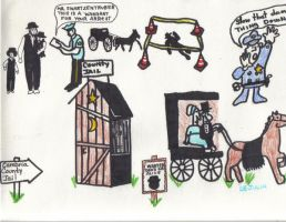 AMISH MAN IN JAIL FOR OUTHOUSE by Buhla