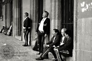 Mariachi band on break by mindi1111