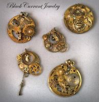 More Steampunk 2 by blackcurrantjewelry
