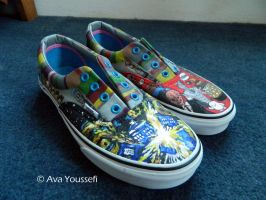 Doctor Who Shoes (2) by MiasmaMelody
