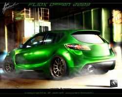 Mazda 3 green by fliOx by fliOx