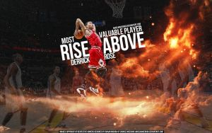 Derrick Rose MVP by Angelmaker666
