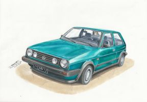 VW Golf Boston MK2 by MGLola