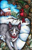 xSilverbells, Pinefresh smells by IceandSnow