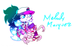 Melody And Sylveon by flame-finn-marce