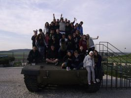ISRAEL Tank memorial place by SilphCreator