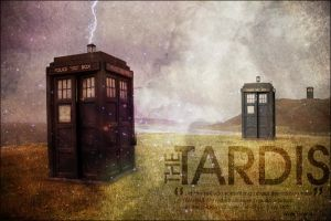 The TARDIS. by cellee