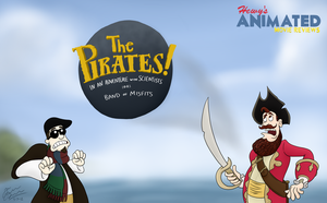 HAMR The Pirates! Title Card by Hewylewis