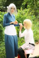 Howl and Sophie - Fate by Kim-T-Mikk